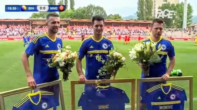 Oproštaj u Zenici: Misimović, Spahić i Ibišević rekli 'zbogom'