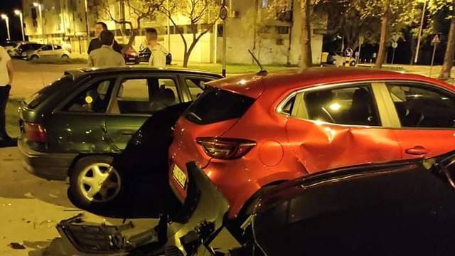 Udario u parkirane aute i pobjegao s mjesta nesreće