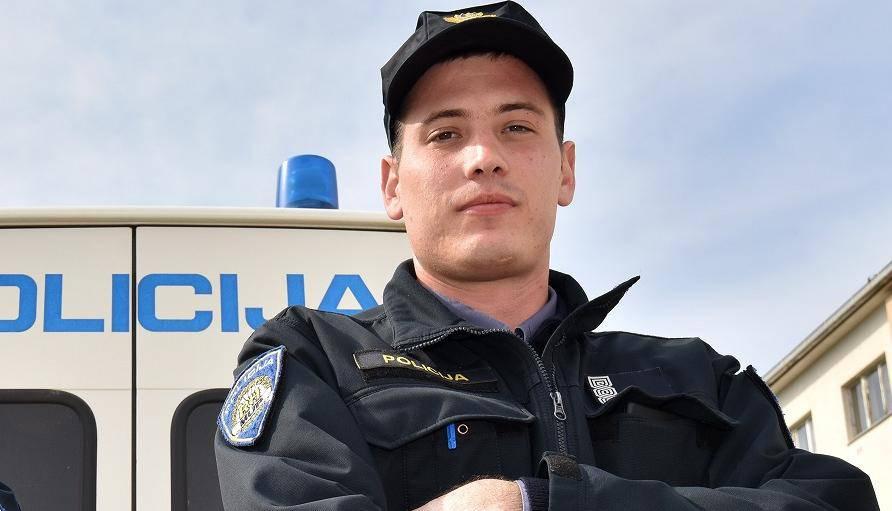 Zadarski superpolicajac ulovio lopova koji ga je ranio nožem