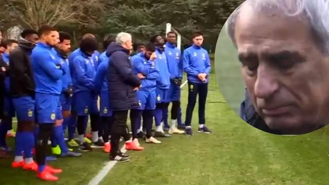 Vaha i igrači Nantesa uplakani: Nadamo se, smrt nisu potvrdili