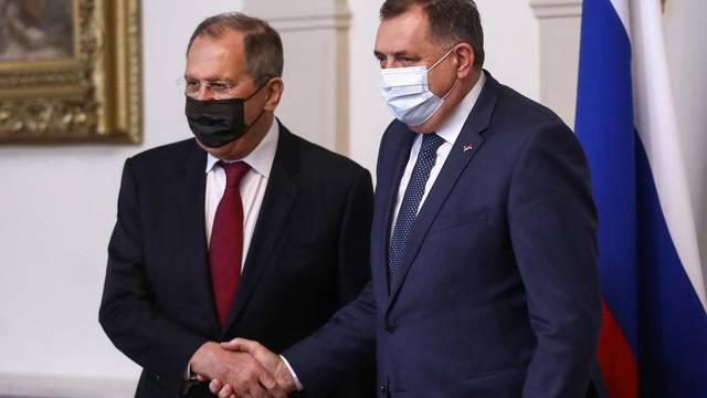 Sarajevo: Milorad Dodik ugostio Lavrova, ministra vanjskih poslova Ruske Federacije