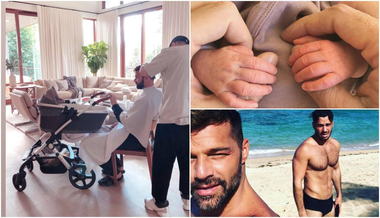 Ricky Martin o kćeri: 'Sve je predivno, suprug brine o njoj'