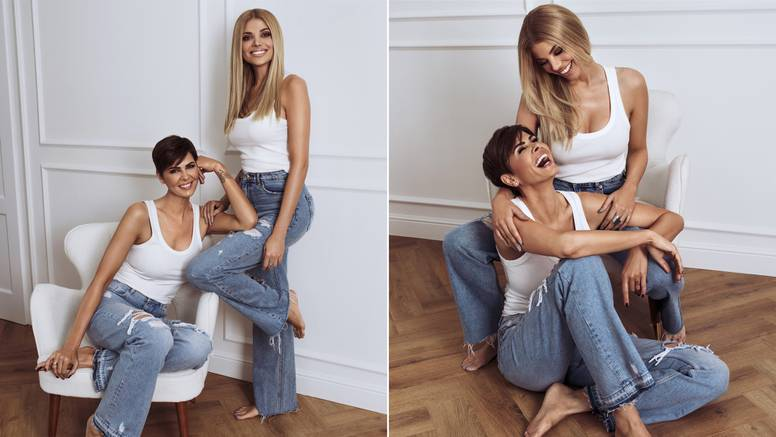 Anica Kovač i Lejla Filipović pokazale kako elegantno nositi puder/losion za lice i tijelo