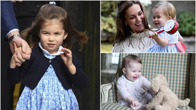 Princeza Charlotte (3): Mala modna ikona priča i španjolski