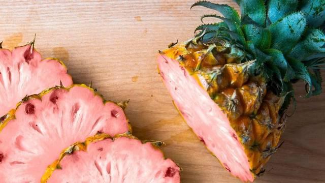 Ružičasti ananasi dostupni su za kupnju, za sada samo u Americi