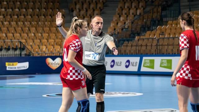 Hrvatice izgubile od Rumunjske, neće u polufinale Europskog