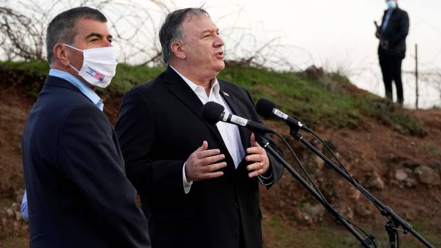 Pompeo visits Israeli-occupied West Bank and Golan Heights