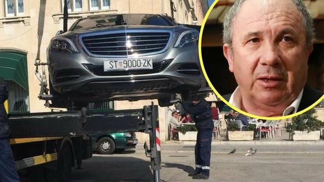 Nije mu prvi put: Bahati Kerum je Mercedes parkirao na zebri