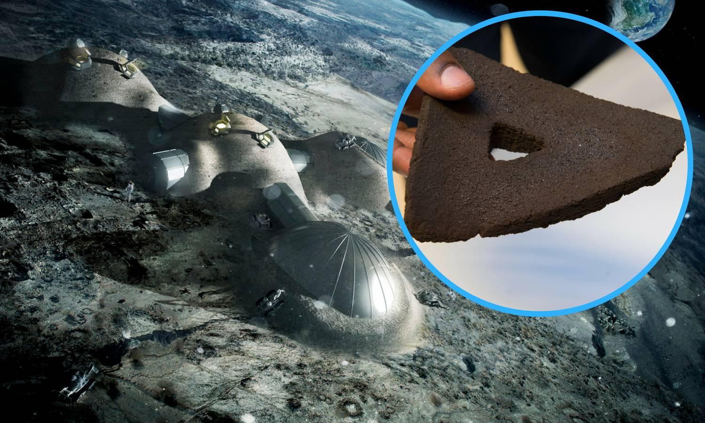 Tvrde su poput gipsa: Printaju cigle za prve kuće na Mjesecu