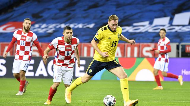 UEFA Nations League - League A - Group 3 - Sweden v Croatia