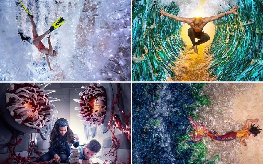 Umjetnička djela od plastičnog otpada: 'Želim da ljudi shvate'