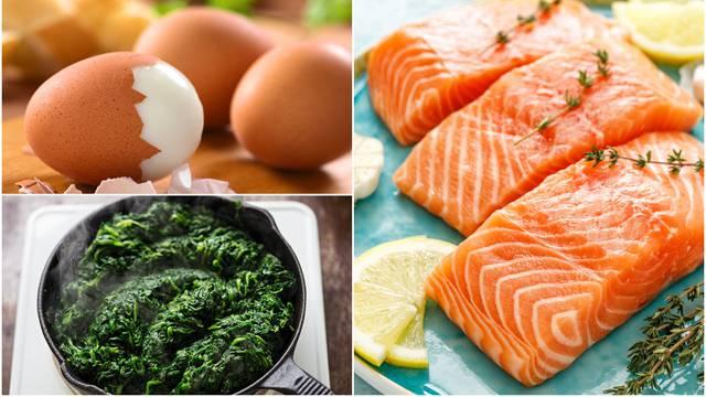 Jaja, riba, lisnato povrće i voće će stres 'pojesti za doručak'