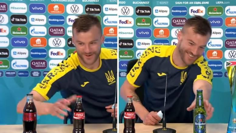 Jarmolenko ne mari: Coca-Cola, Heineken... Ma, svi mi se javite