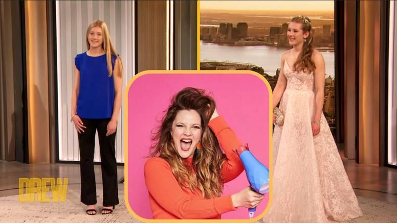 Drew Barrymore u svom showu tinejdžerki priredila potpuni makeover za maturalnu večer