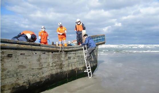 Drveni brodovi s kosturima već danima stižu na obalu Japana