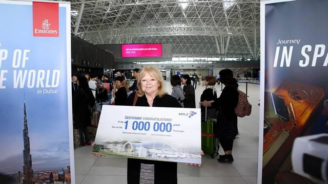 Milijunti putnik u Zagreb sletio je dva tjedna ranije nego lani