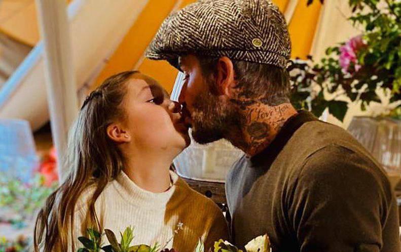Fanovi se uznemirili: Beckham je opet ljubio kćer (9) u usta...