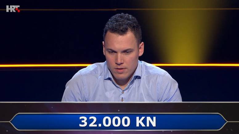 Splićanin pao na pitanju samo četiri koraka do svog milijuna