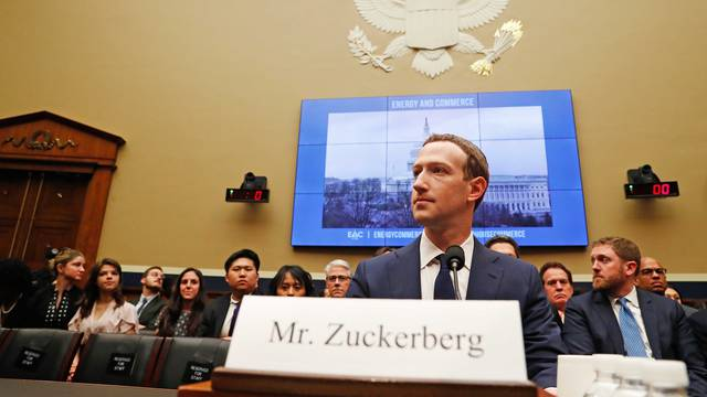 Facebook CEO Zuckerberg testifies before House Energy and Commerce Committee hearing on Capitol Hill in Washington