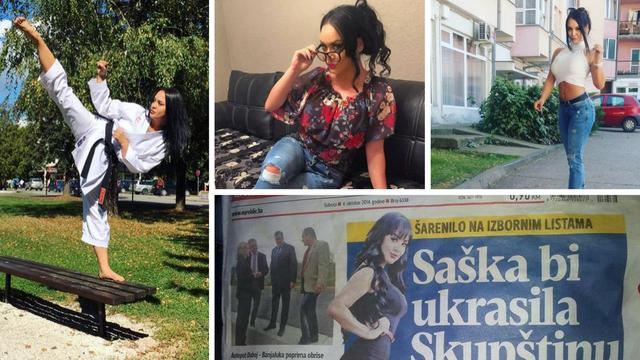 Fatalna Saška ima crni pojas u karateu, a htjela je i u politiku