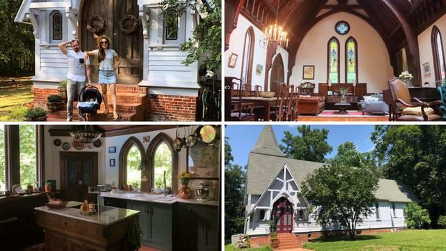 Par sesa troje djece preselio u 120 godina staru gotičku crkvu