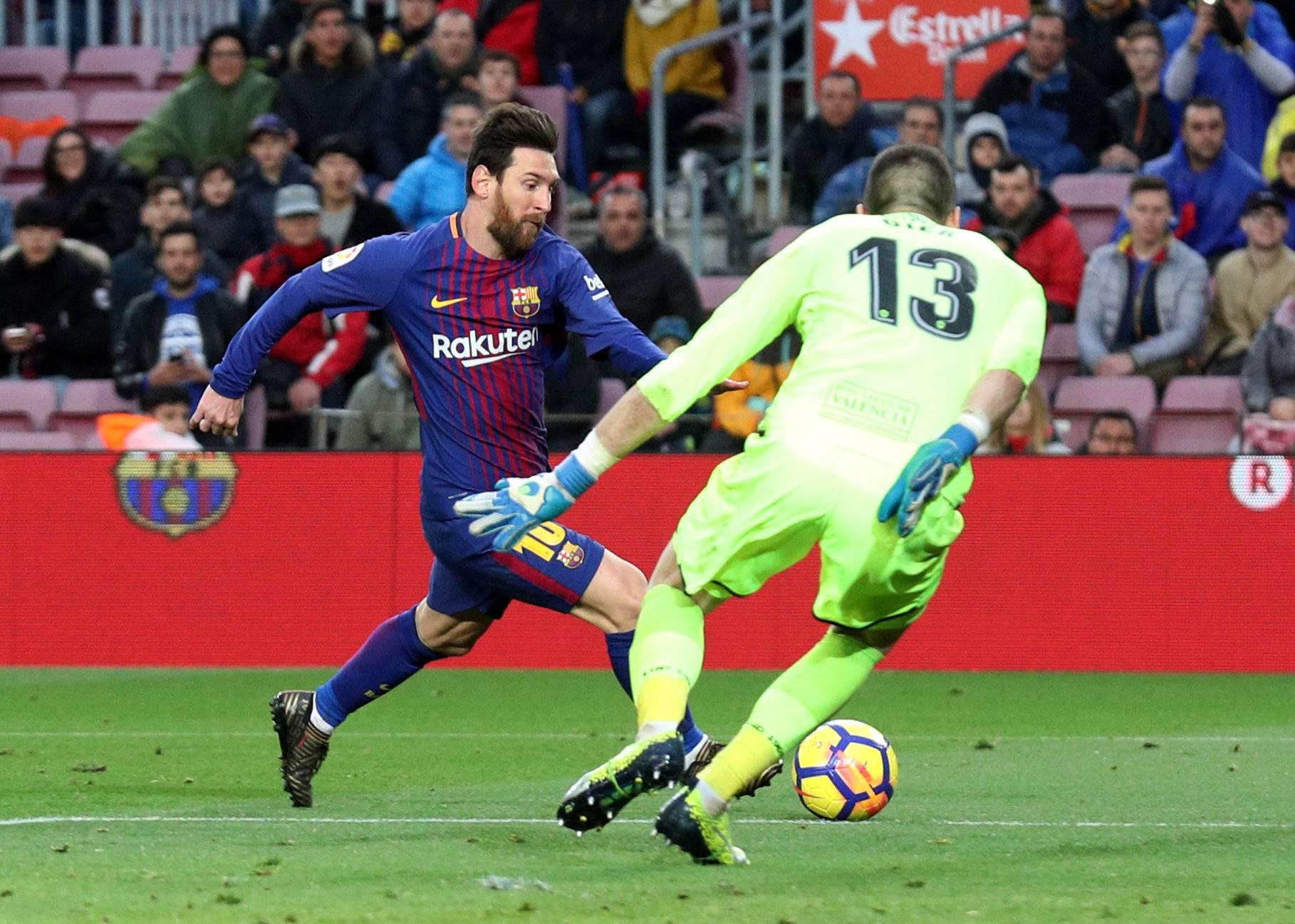 La Liga Santander - Barcelona vs Levante