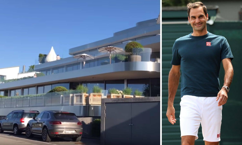 Ni Federer ne voli porez: Živi u malom gradiću i milijunskoj vili