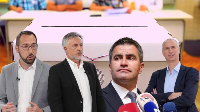 Izlazne ankete: Tomašević ima 68,3 posto u Zagrebu, Puljak u Splitu vodi s 59,2 posto glasova