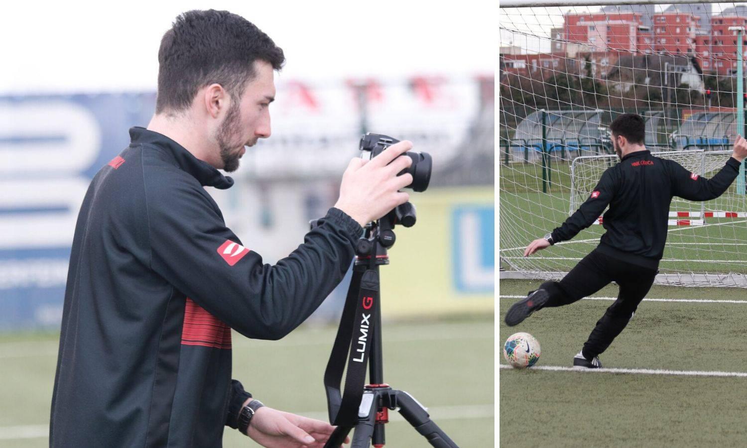 Gorica dovela mladog trenera: Filip (25) radi na tehnici udarca