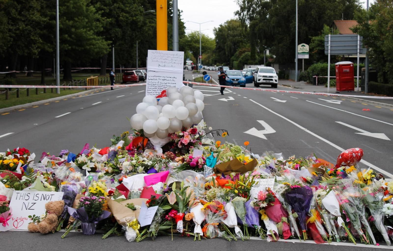 After attack on mosques in New Zealand - mourning