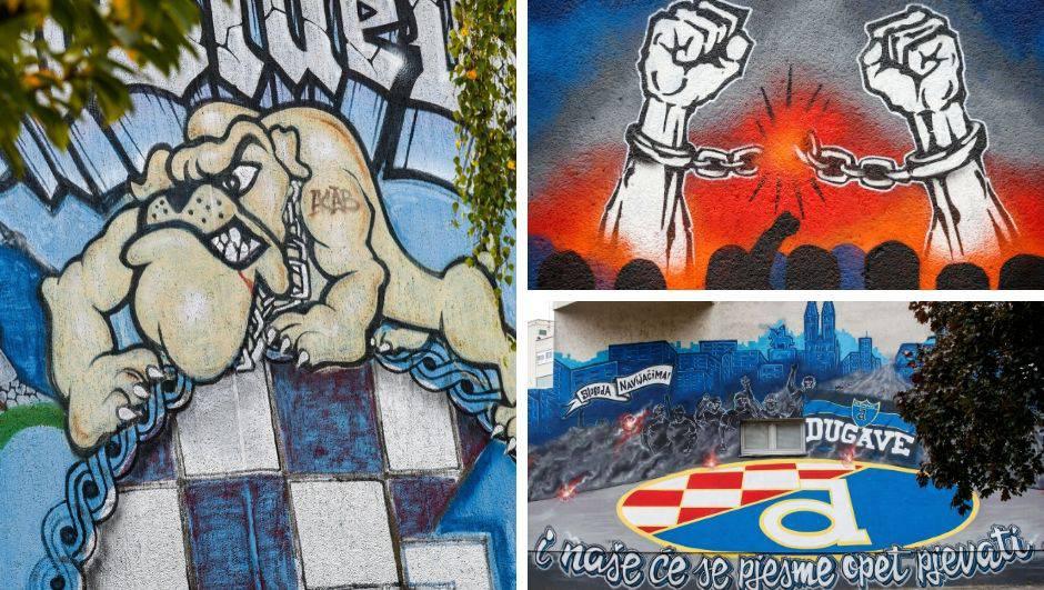 Zagreb je zbog Dinama ljepši: Murali i grafiti ukrasili su grad
