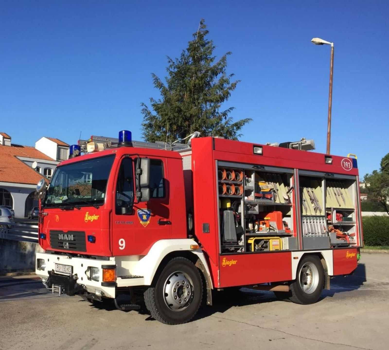 Zagreb: Pas se ugušio u požaru