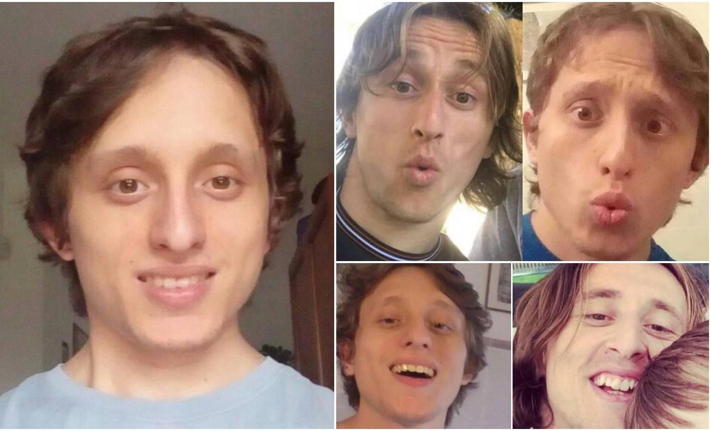 Talijanski dvojnik: Pustio sam kosu da još više sličim Modriću
