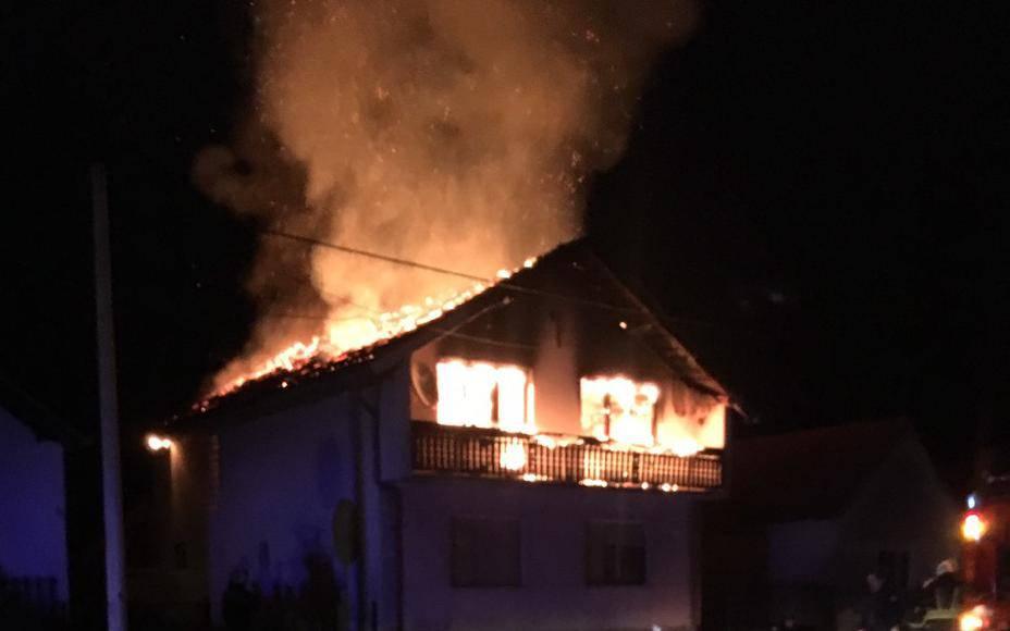 Pijan je zapalio očevu kuću: 'E, pa sad se nemaš gdje vratiti'
