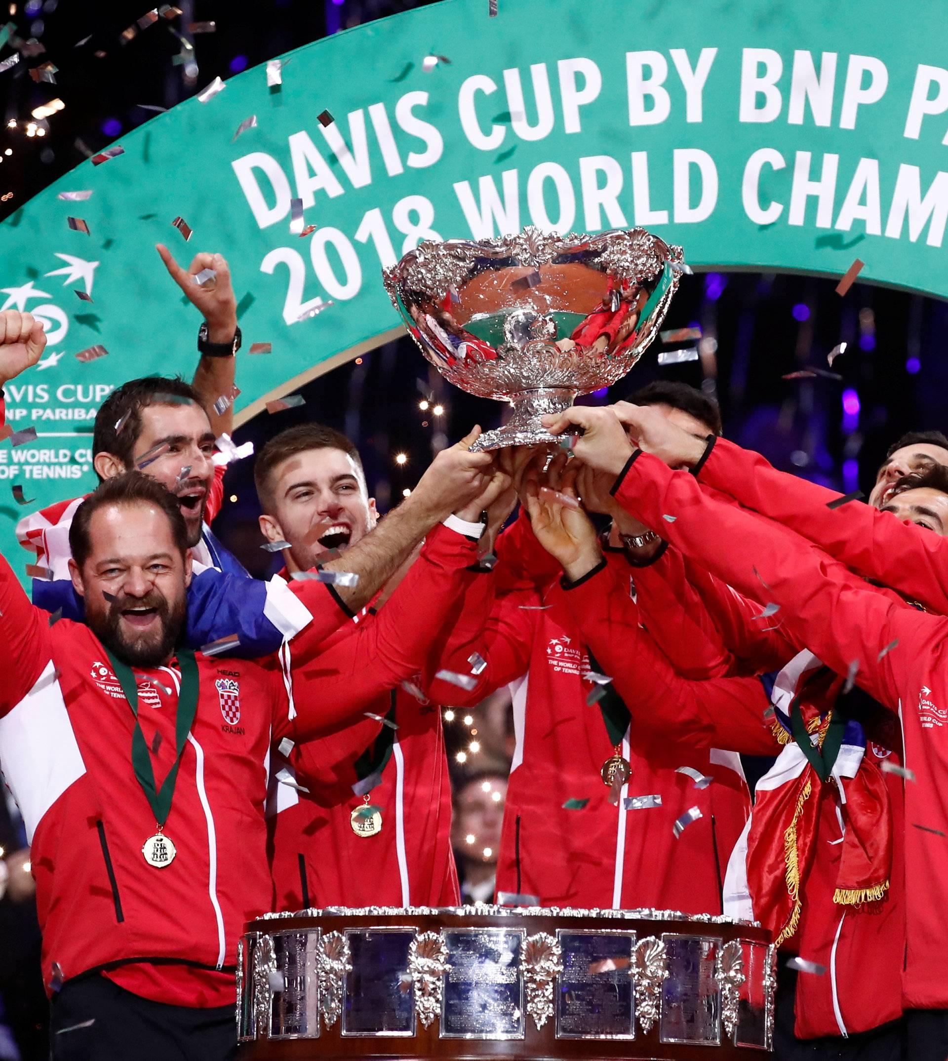 Davis Cup Final - France v Croatia