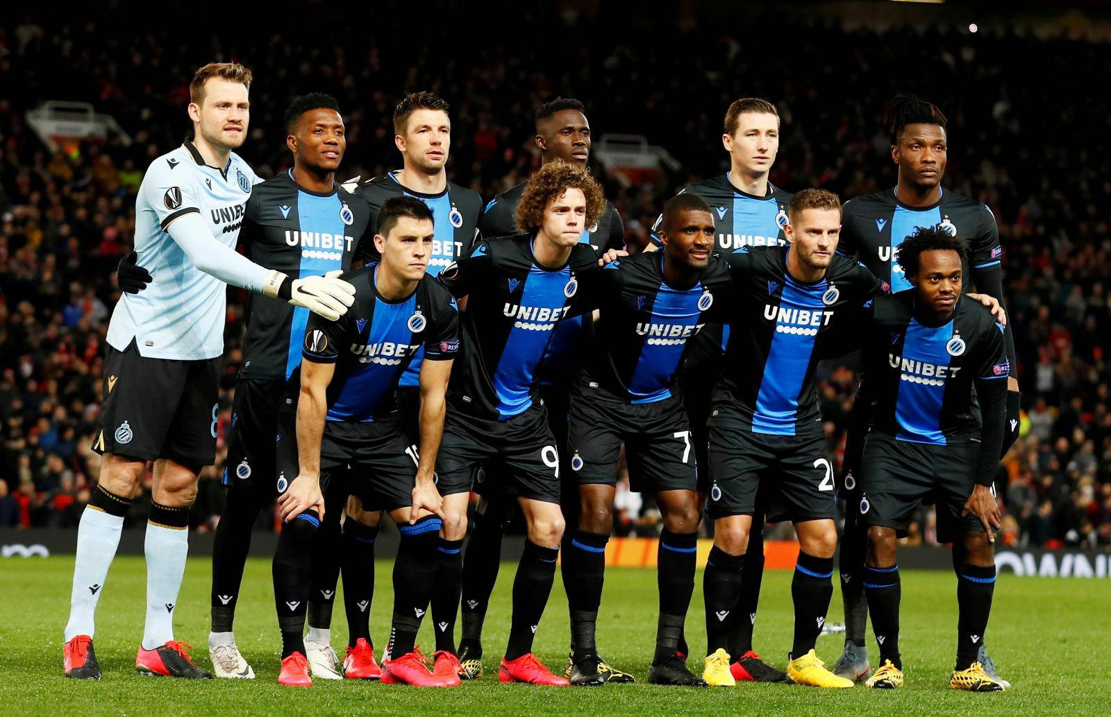 FILE PHOTO: FILE PHOTO: Europa League - Round of 32 Second Leg - Manchester United v Club Brugge