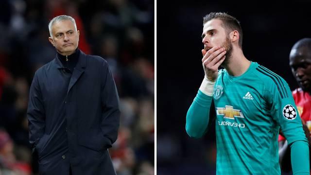 Jose zabrinut: Nisam siguran hoće li de Gea produljiti ugovor