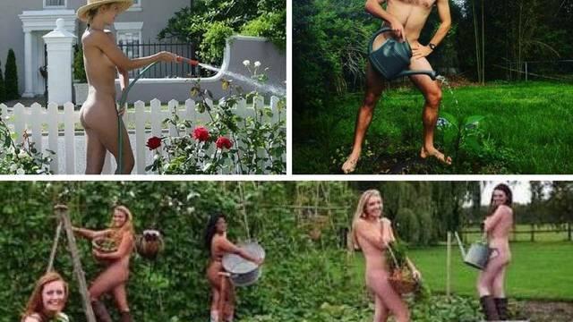 Nemaju ni krpicu na sebi - na Svjetski dan golog vrtlarenja