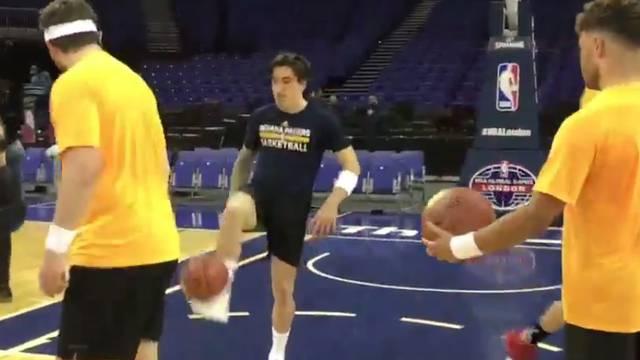 NBA Arsenal: Bellerin slobodna pogađa nogom i bez gledanja...