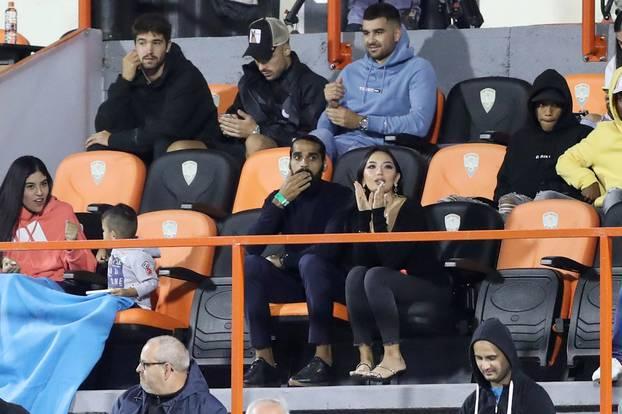 Novi igrač Šibenika Sandesh Jhingan u društvu zaručnice pratio utakmicu Šibenika i Istre