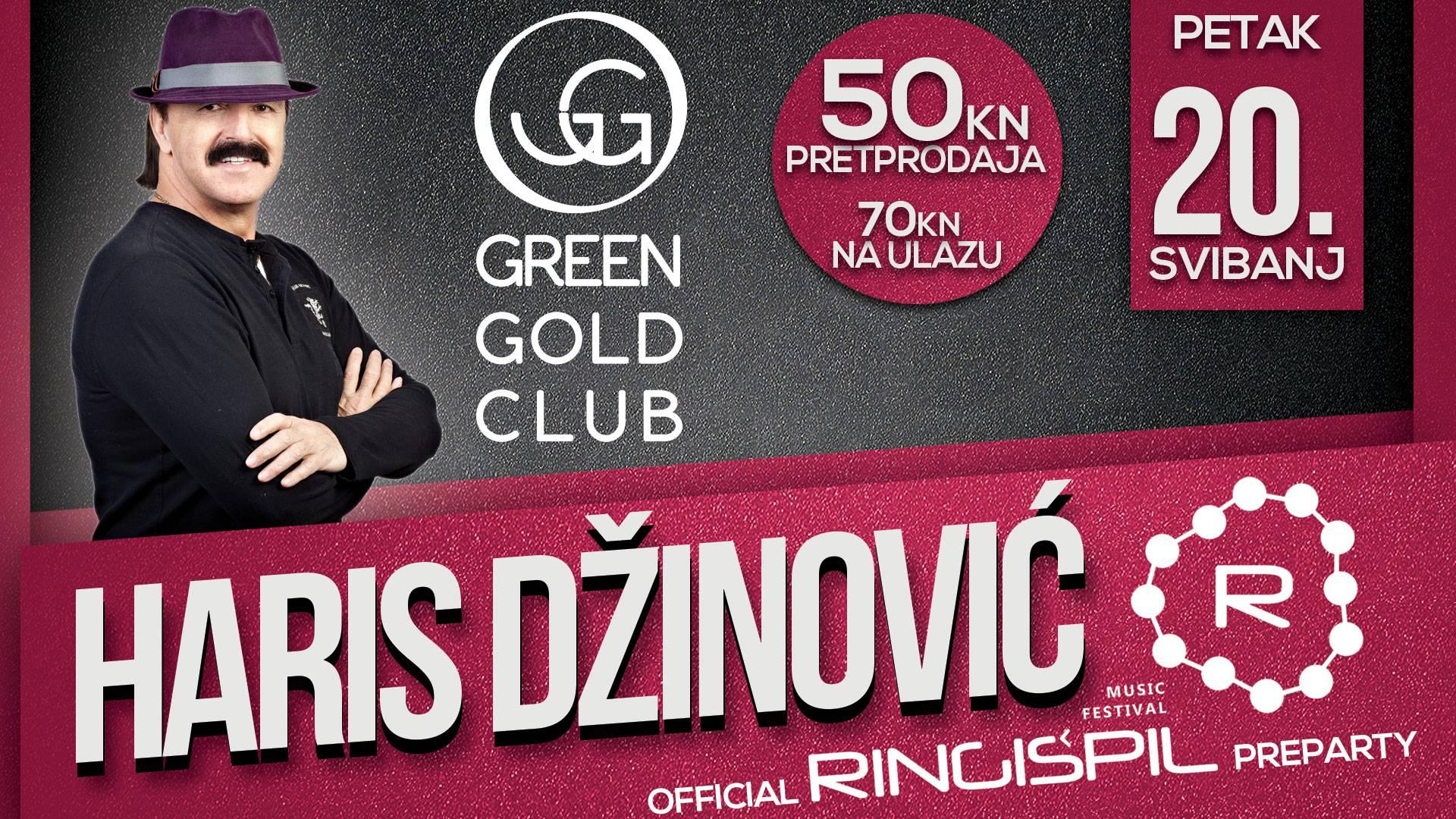 U Green Gold Club stižu Sandi, tamburaši i on, Haris Džinović