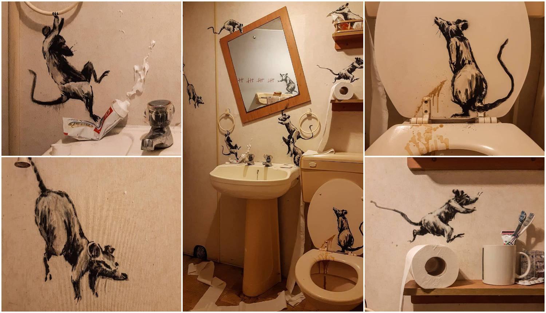 Banksy se javio iz karantene: 'Žena mrzi kad radim od doma'