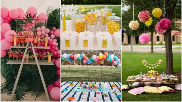Spremate se za ljetnu proslavu rođendana? Evo kako urediti dvorište ili terasu za uživanje
