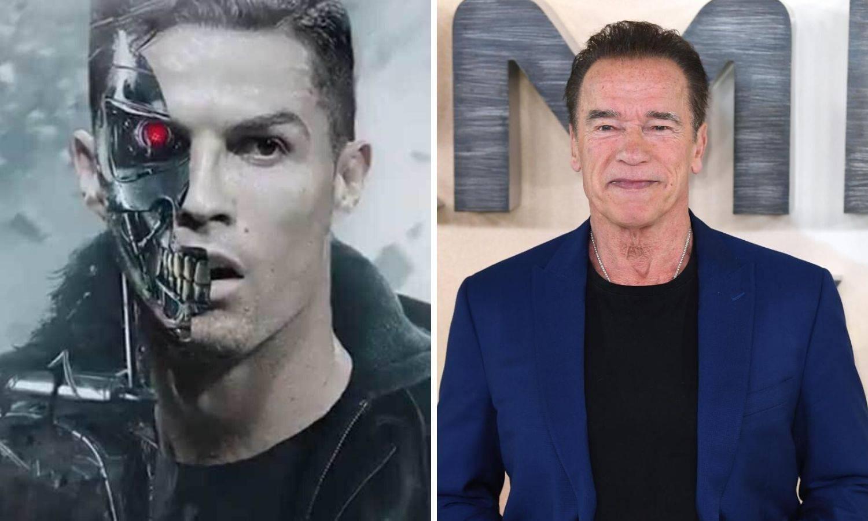 Schwarzenegger: Cristiano je za mene Terminator nogometa