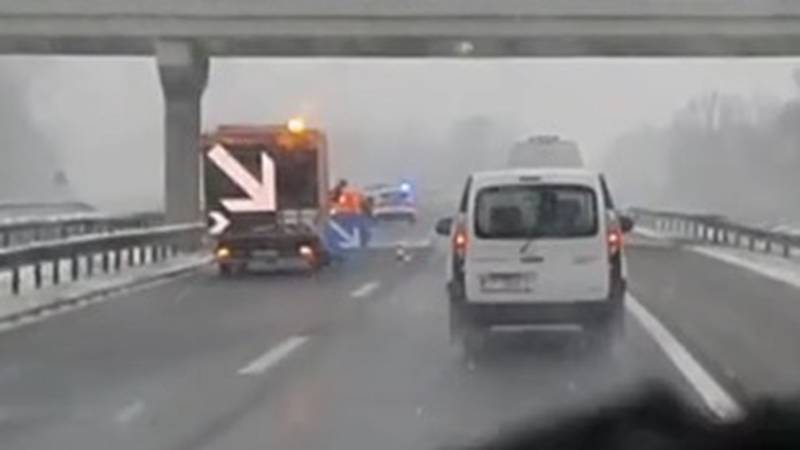 Prometna nesreća kraj Kutine: 'Šokirao sam se, auto je udario u ogradu i izrotirao se na cesti'