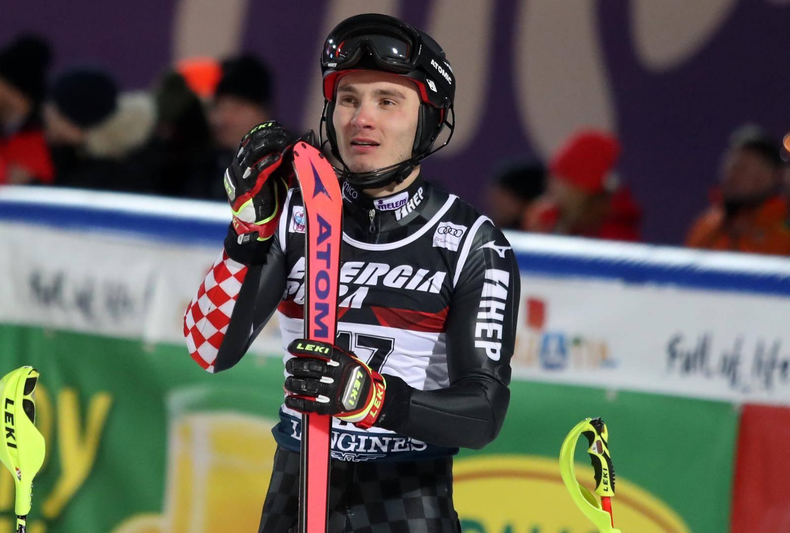 Zagreb: Druga vožnja muškog slaloma Audi FIS Svjetskog skijaškog kupa Snow Queen Trophy