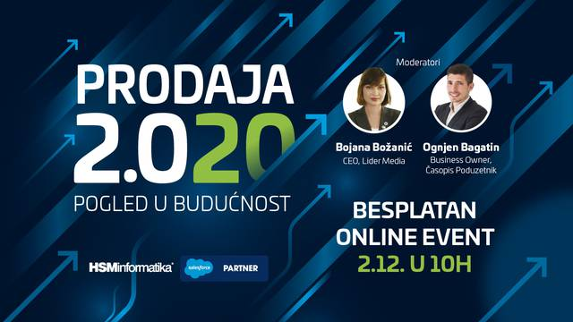 Stručnjaci iz cijele regije 2. prosinca na online eventu govore o prodaji i marketingu