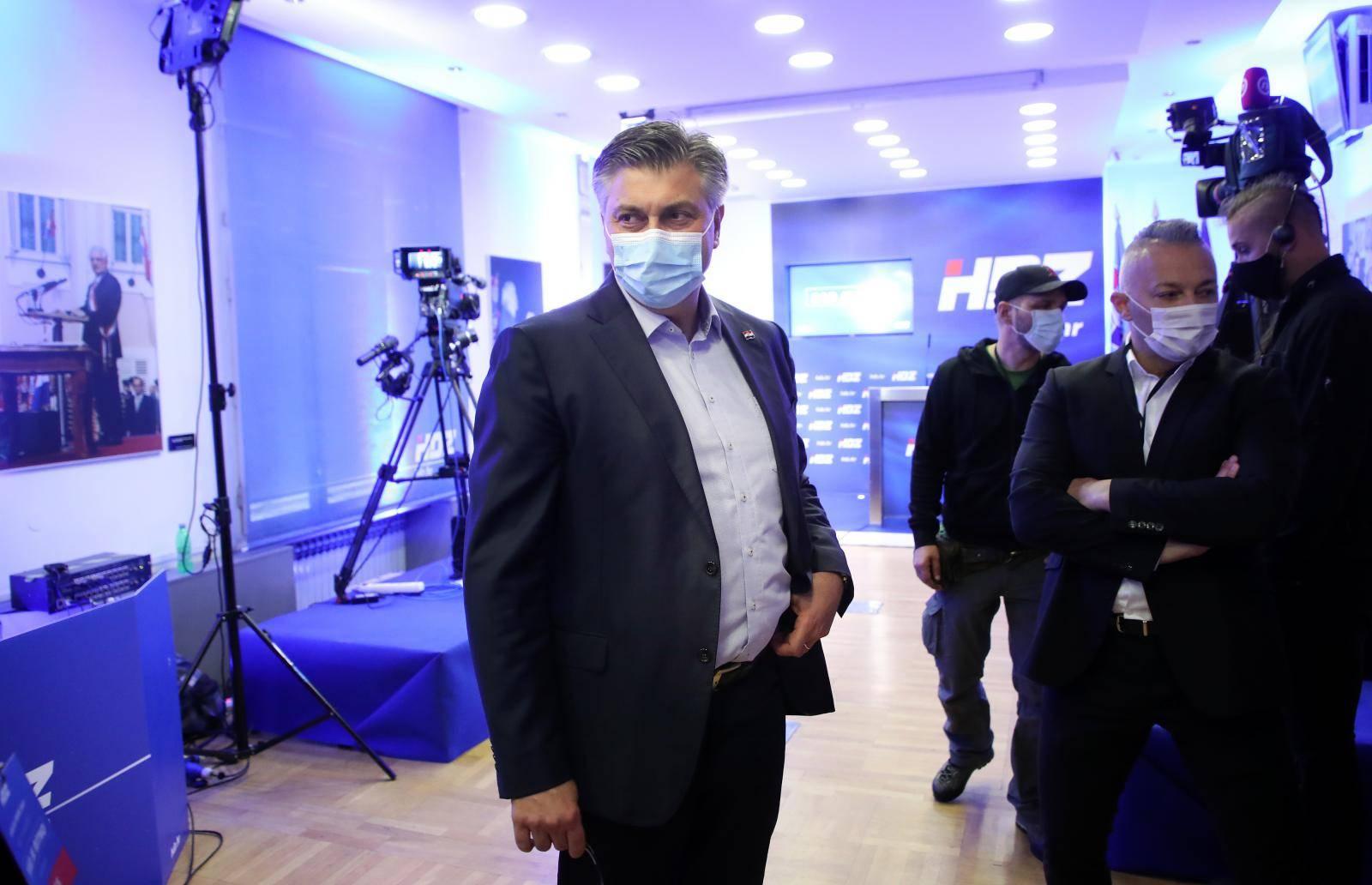 Izborni stožer kandidata za gradonačelnika Zagreba Davora Filipovića