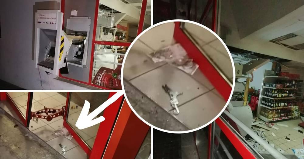 Raznijeli bankomat u Karlovcu: 'Dio novca ostao im je na podu'