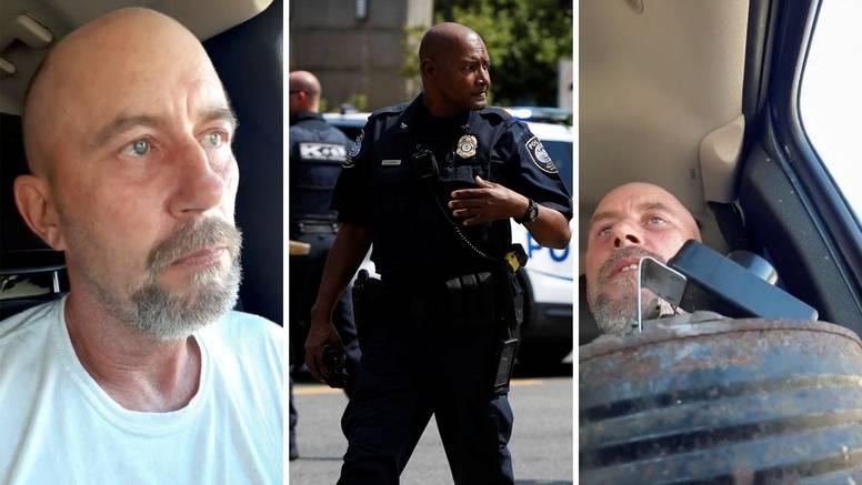Drama trajala pet sati: Predao se muškarac koji je u autu na Capitolu tvrdio da ima bombu